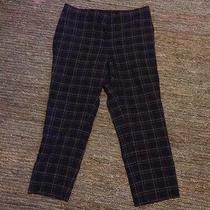 Ann Taylor Kate fit size 10 plaid pants